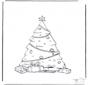 Kerstboom versiert