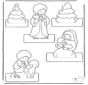 Kerststal knutselen 2