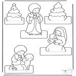 Knutselen - Kerststal maken 2
