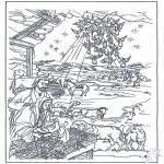 Kerst Kleurplaten - Kerstverhaal 12