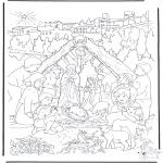 Kerst Kleurplaten - Kerstverhaal 14