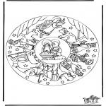 Kerst Kleurplaten - Kerstverhaal 16