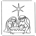 Kerst Kleurplaten - Kerstverhaal 5