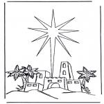 Kerst Kleurplaten - Kerstverhaal 6