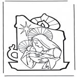 Kerst Kleurplaten - Kerstverhaal 8
