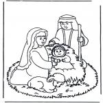 Kerst Kleurplaten - Kerstverhaal 9