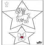 Kerst Kleurplaten - Kerstversiering 3