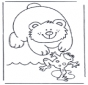 Kikker en beer