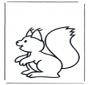 Kinder eekhoorn