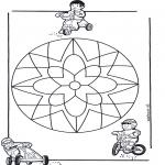 Mandala Kleurplaten - Kindermandala 10
