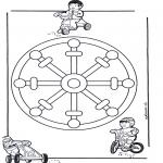 Mandala Kleurplaten - Kindermandala 11