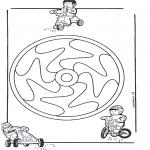 Mandala Kleurplaten - Kindermandala 12