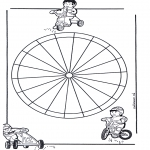 Mandala Kleurplaten - Kindermandala 13
