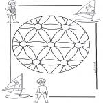 Mandala Kleurplaten - Kindermandala 2