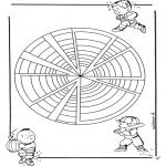 Mandala Kleurplaten - Kindermandala 22