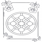 Mandala Kleurplaten - Kindermandala 3