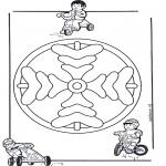 Mandala Kleurplaten - Kindermandala 8