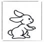 Klein konijntje 1