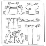 Knutselen - Kleren aankleedpop 2