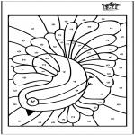 Knutselen - Kleuren op nummer 4