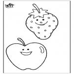 Allerlei Kleurplaten - Kleurplaat Fruit 2