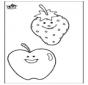 Kleurplaat Fruit 2