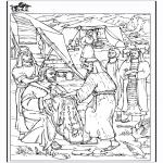 Kleurplaten Bijbel - Kleurplaat Jakob
