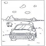 Allerlei Kleurplaten - Kleurplaten auto