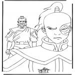 Stripfiguren Kleurplaten - Kleurplaten Avatar