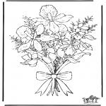 Allerlei Kleurplaten - Kleurplaten bloemen
