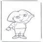 Kleurplaten Dora