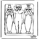 Allerlei Kleurplaten - Kleurplaten Egypte