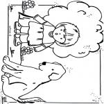 Kinderkleurplaten - Kleurplaten hond
