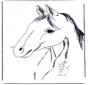 Kleurplaten paarden