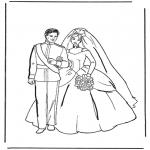 Cars Huwelijk Kleurplaat Kleurplaten Trouwen Thema Kleurplaten