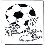 Allerlei Kleurplaten - Kleurplaten voetbal