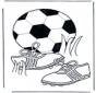 Kleurplaten voetbal