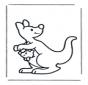 Kleuter kangoeroe