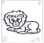 Kleuter leeuw