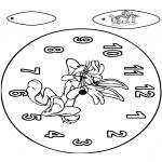 Knutselen - Klok Bugs Bunny