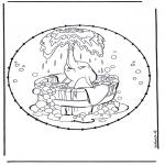Knutselen Borduurkaarten - Knutselen Dombo