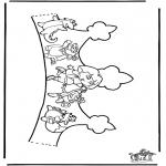 Knutselen - Kroontje Dora