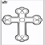 Kleurplaten Bijbel - Kruis