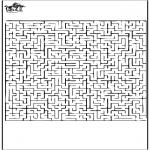 Knutselen - Labyrinth 1