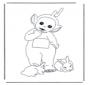 Lala met konijntjes