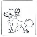 Kleurplaten Dieren - Leeuwen 4