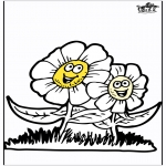 Allerlei kleurplaten - Lente bloemen 3