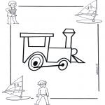 Allerlei Kleurplaten - Locomotief 1