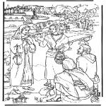 Kleurplaten Bijbel - Lydia