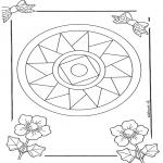 Mandala Kleurplaten - Mandala 10